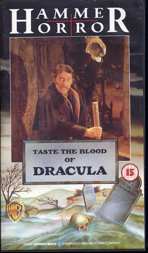 Taste The blood of Dracula - Hammer Horror Video